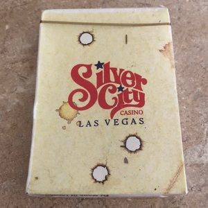 Silver City Casino Las Vegas Playing Cards RARE